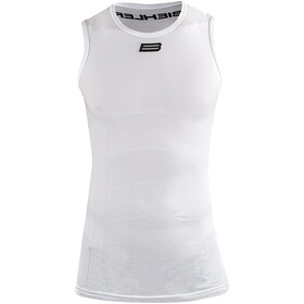 Biehler Seamless Pro Sleeveless Baselayer Men white